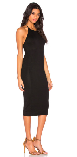 Blq. Basiq Halter Midi Dress