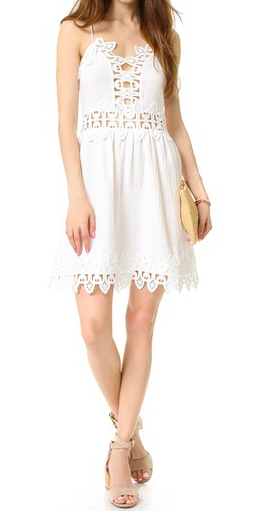 Saylor Tayler Gauze Slip Dress