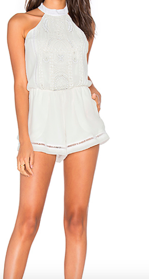 Lovers+Friends Your Girl Romper