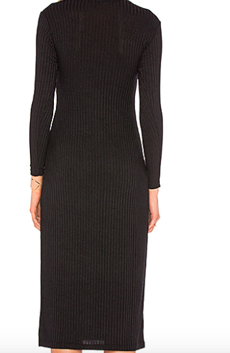 Capulet Cut Out Turtleneck Dress