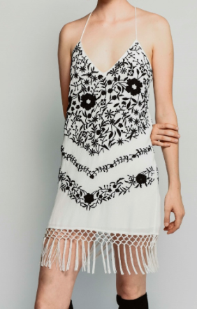 Saylor Honey Slip Dress
