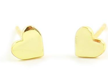 Kris Nations Heart Sud Earrings