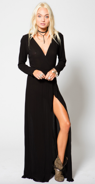 Stillwater Wrap Dress
