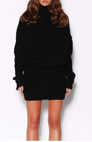 Ministry Of Style Ribbed Knit Dress