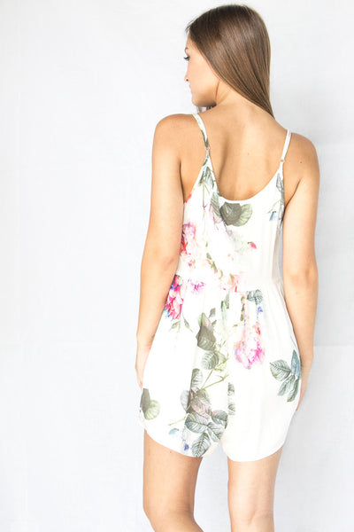 Some Days Lovin Vacancy Floral Jumpsuit