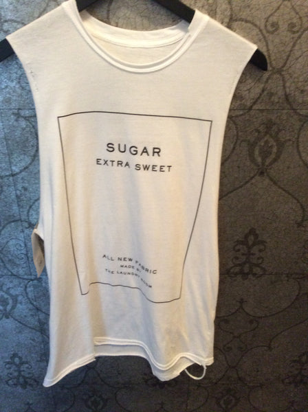 The Laundry Room Sugar Label Muscle Tee