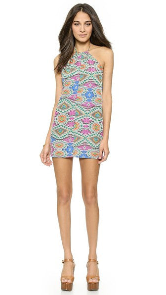 Lovers + Friends Hopeless Love Dress in Mosaic