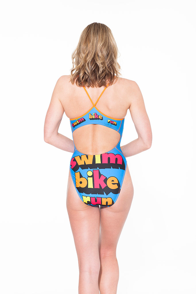 Swim Bike Run Thin-Strap