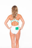 Lucky Suit White Racerback (SALE)