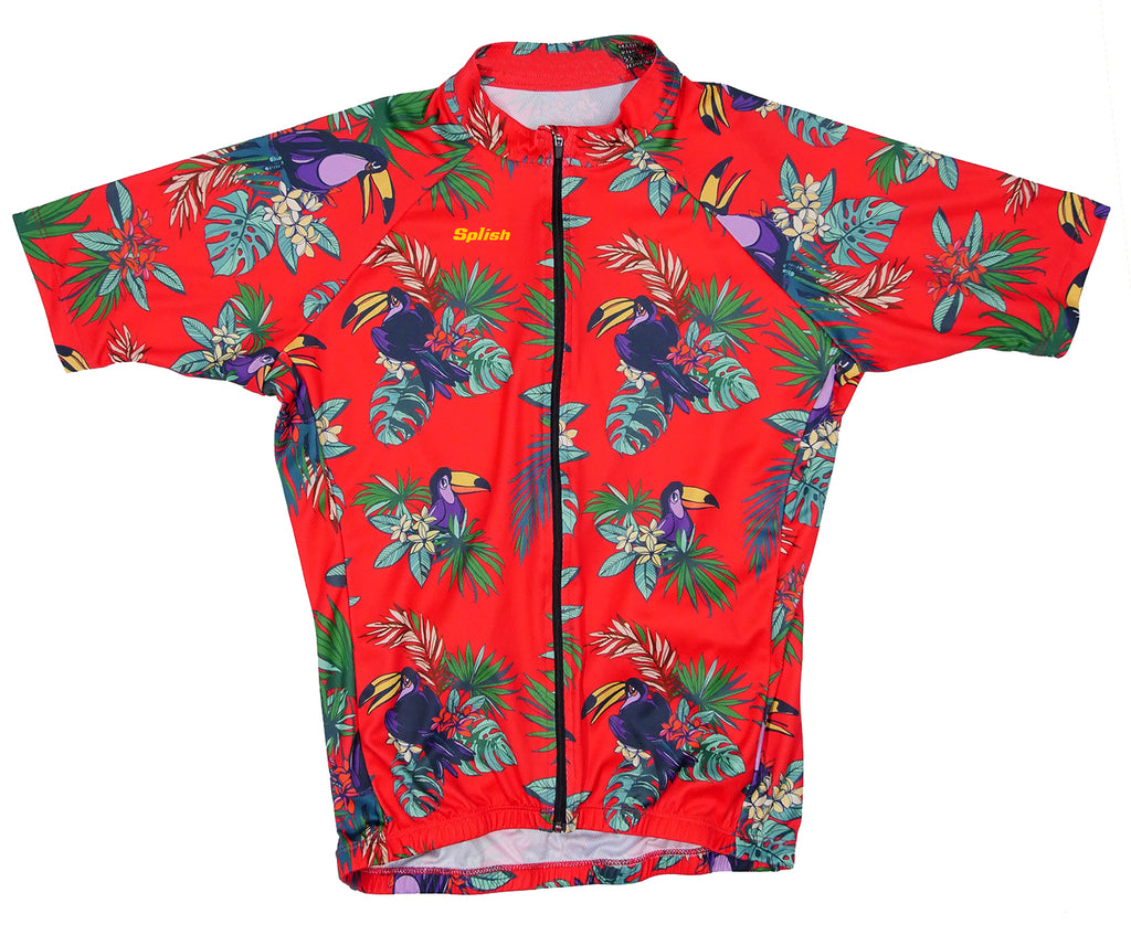 Hawaiian Detective Red / Womens.Cycling