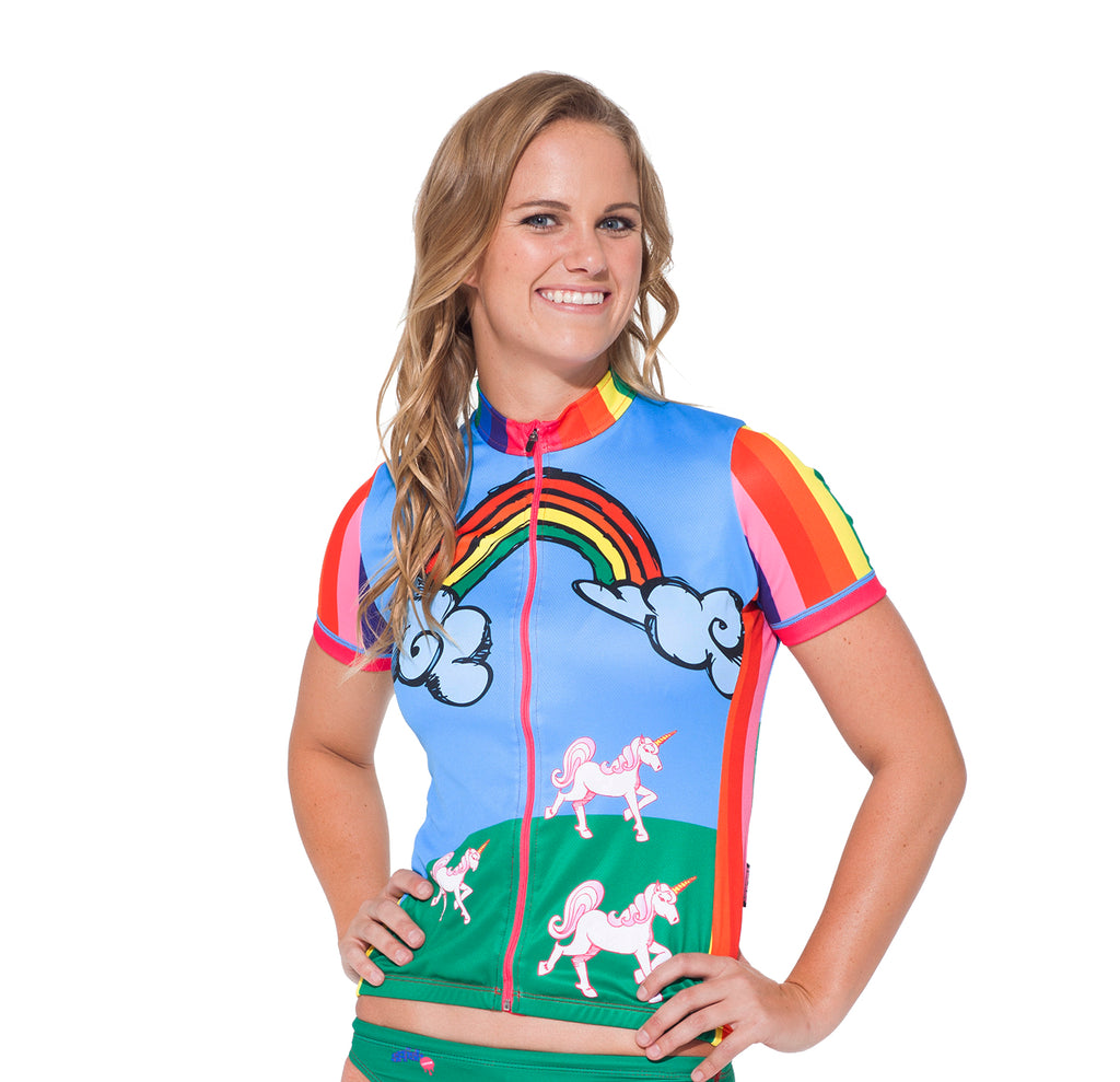 Unicorns & Rainbows / Womens.Cycling