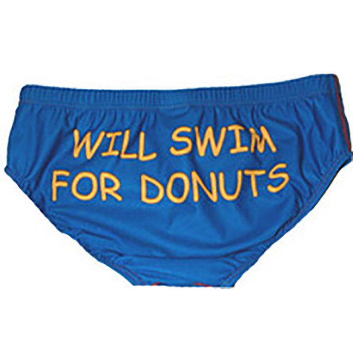 Will Swim For Donuts / Mens.Brief