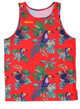 Hawaiian Detective Red/ Womens.Singlet