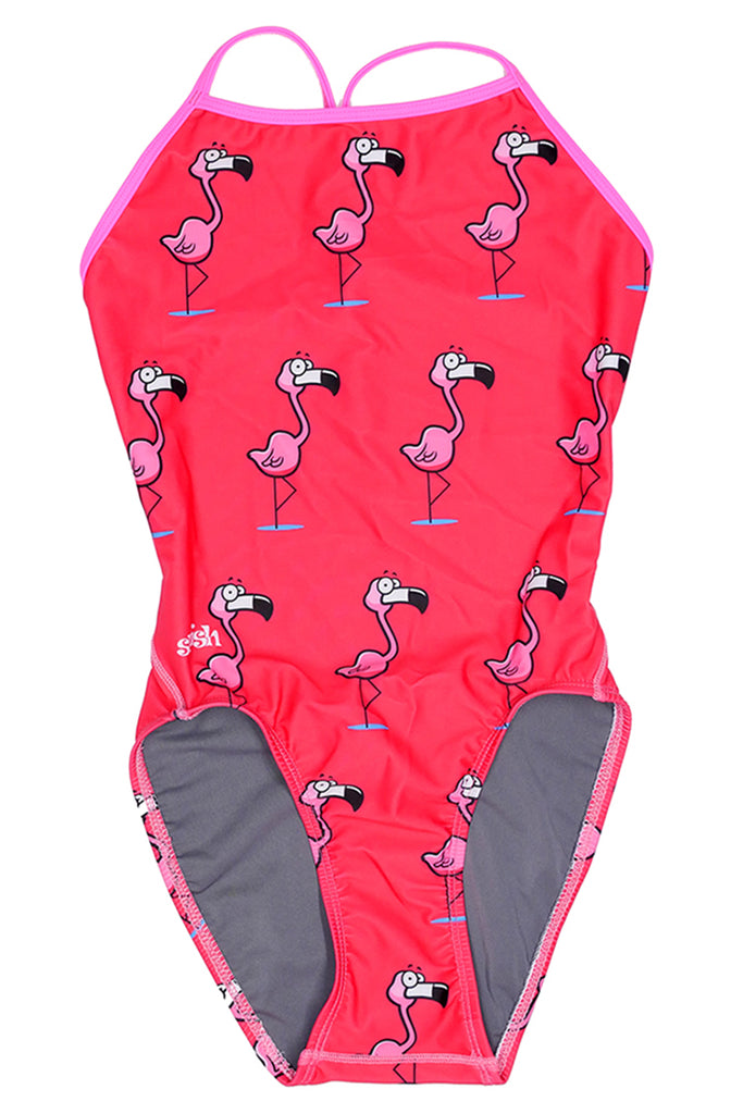 Pink Flamingos / Super.Thin.Strap