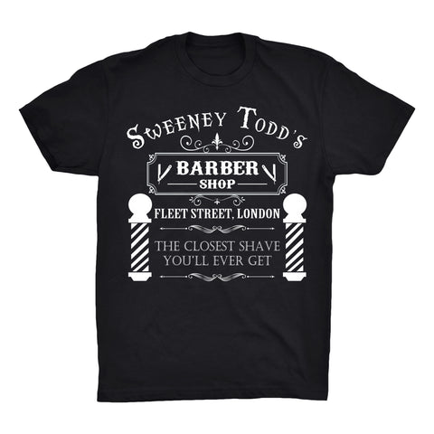 Sweeney Todd's 100% Soft Premium Cotton T-Shirt