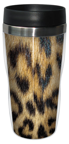 Leopard Skin 16 Ounce Travel Mug