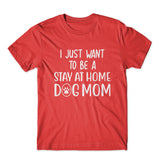 I Just Want To Be Stay At Home T-Shirt 100% Cotton Premium Tee