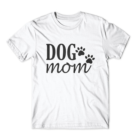 Dog Mom T-Shirt 100% Cotton Premium Tee