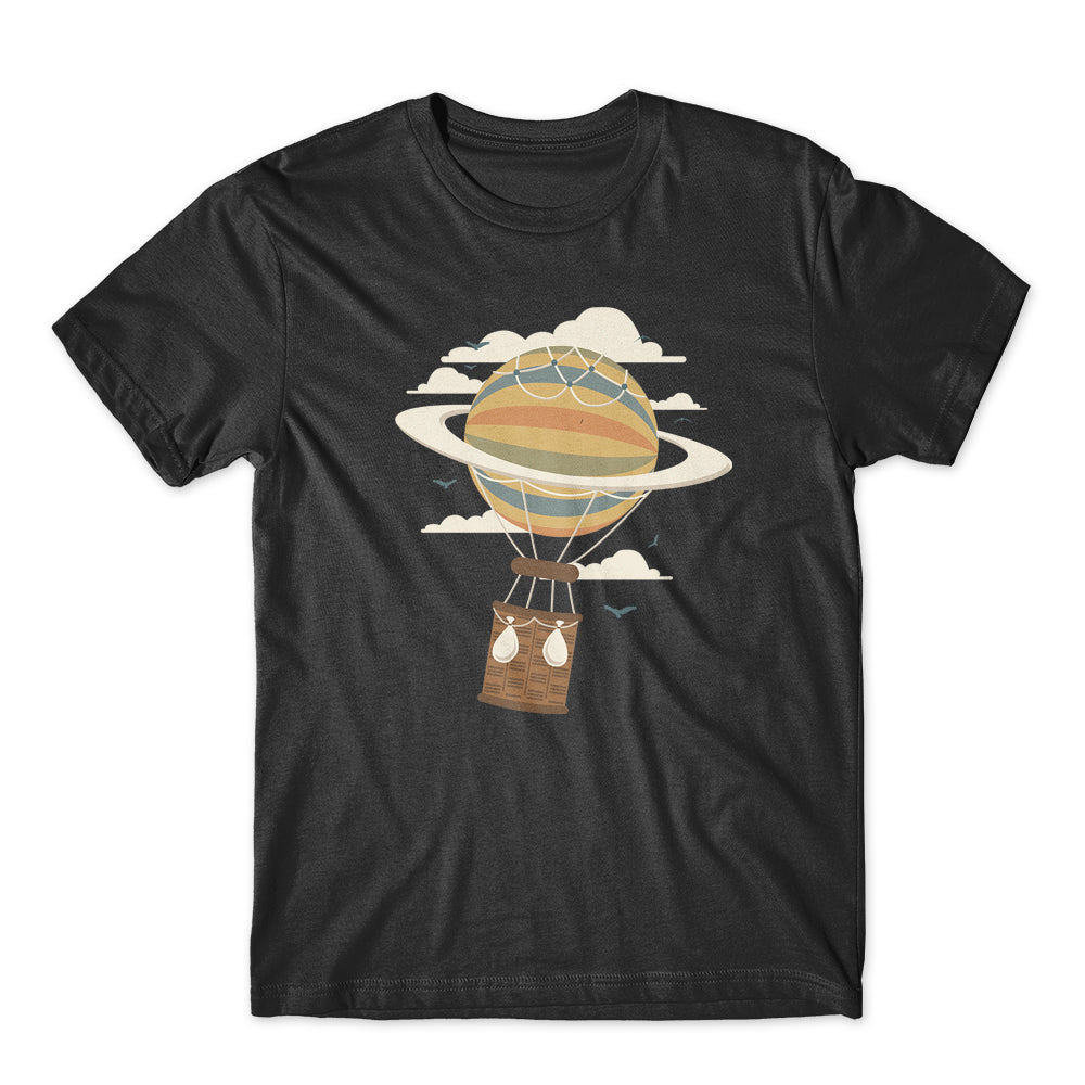 Air Baloon Saturn T-Shirt 100% Cotton Premium Tee NEW