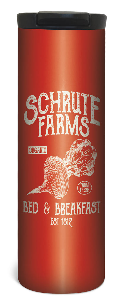 Schrute Farms 17 Ounce Double Wall Vacuum Insulated Stainless Steel