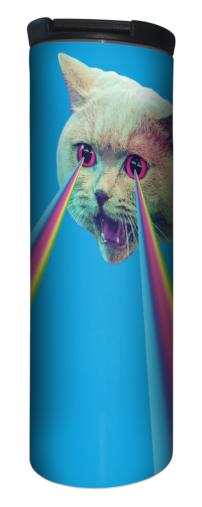 Laser Cat 17 Ounce Double Wall Vacuum Insulated Stainless Steel
