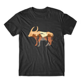 Sunset in Buffalo T-Shirt 100% Cotton Premium Tee NEW