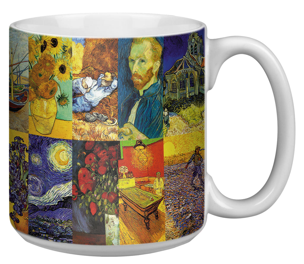 Van Gogh Paintings 20 Ounce Jumbo Mug