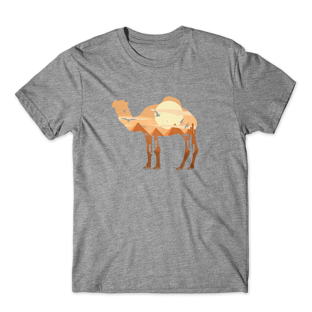 Sunrise in Camel  T-Shirt 100% Cotton Premium Tee NEW