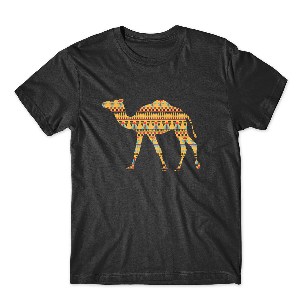 Camel Ornament T-Shirt 100% Cotton Premium Tee NEW