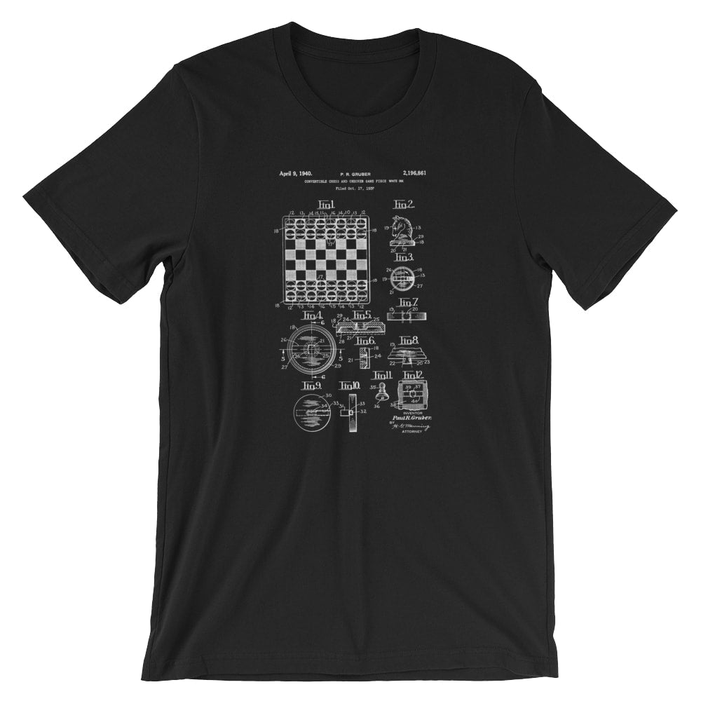 Chess Patent T-Shirt - Mighty Circus