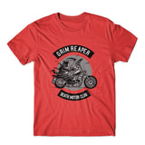 Death Motorcycle Club T-Shirt 100% Cotton Premium Tee NEW