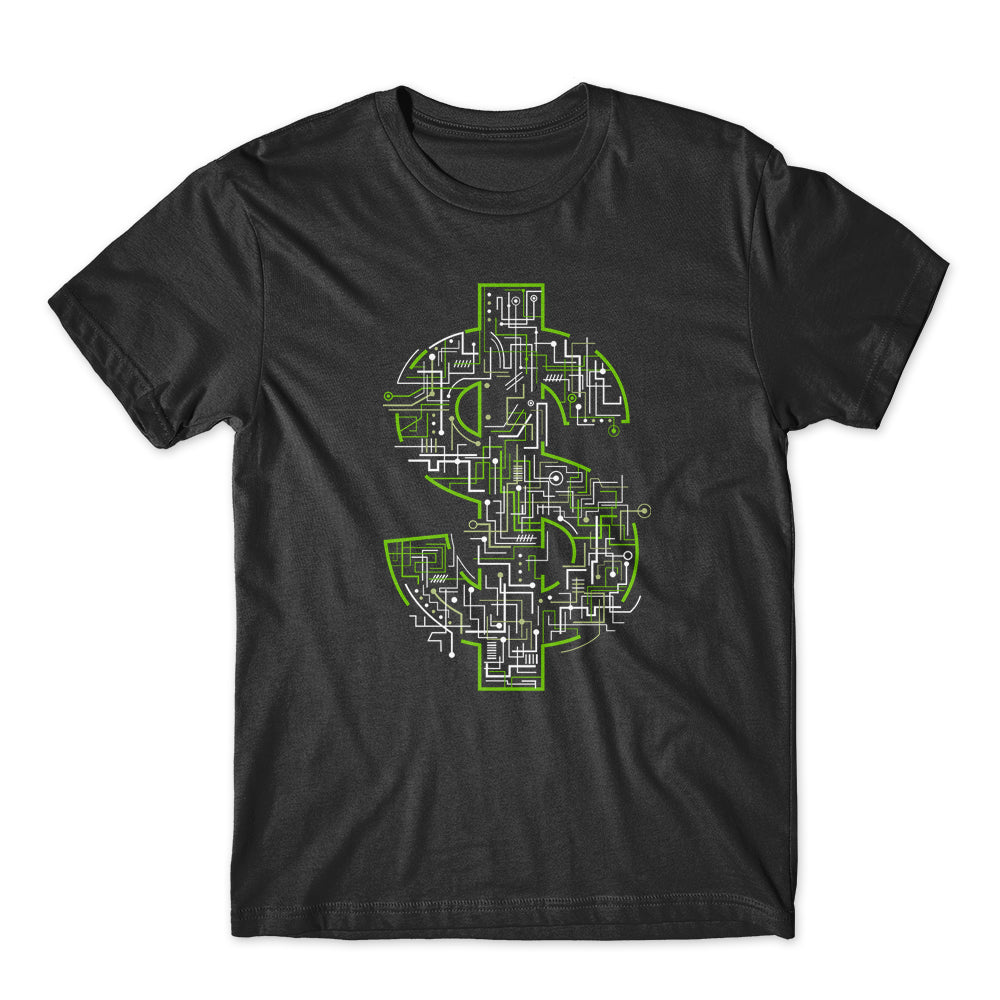 Electric Dollar T-Shirt 100% Cotton Premium Tee NEW
