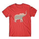 Elephant Ornament T-Shirt 100% Cotton Premium Tee NEW