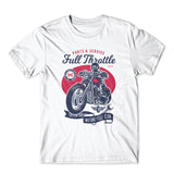 Full Throttle Motocycle Club T-Shirt 100% Cotton Premium Tee NEW