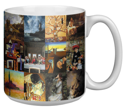 Famous Paintings 20 Ounce Jumbo Mug