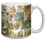 Alice in Wonderland 20 Ounce Jumbo Mug