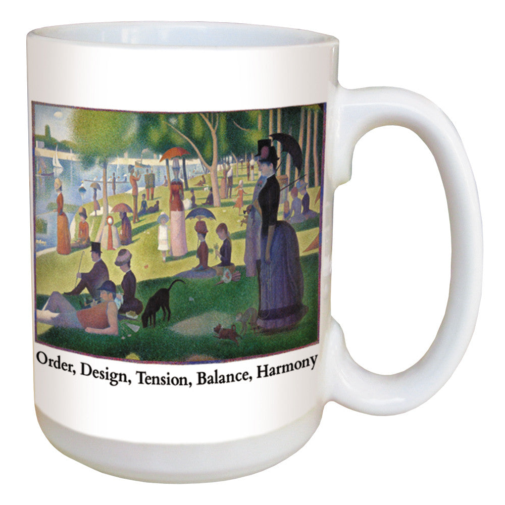 Sunday in the Park with George coffee mug