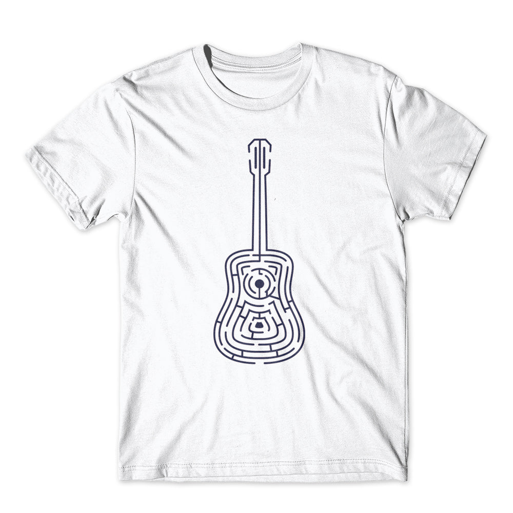 Labyrint Guitar Musician Humor T-Shirt 100% Cotton Premium Tee NEW