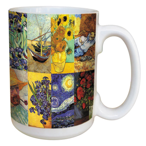 Van Gogh Coffee Mug Large 15 Ounce Ceramic Mug