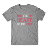 Mom The Heart Of The Home T-Shirt 100% Cotton Premium Tee
