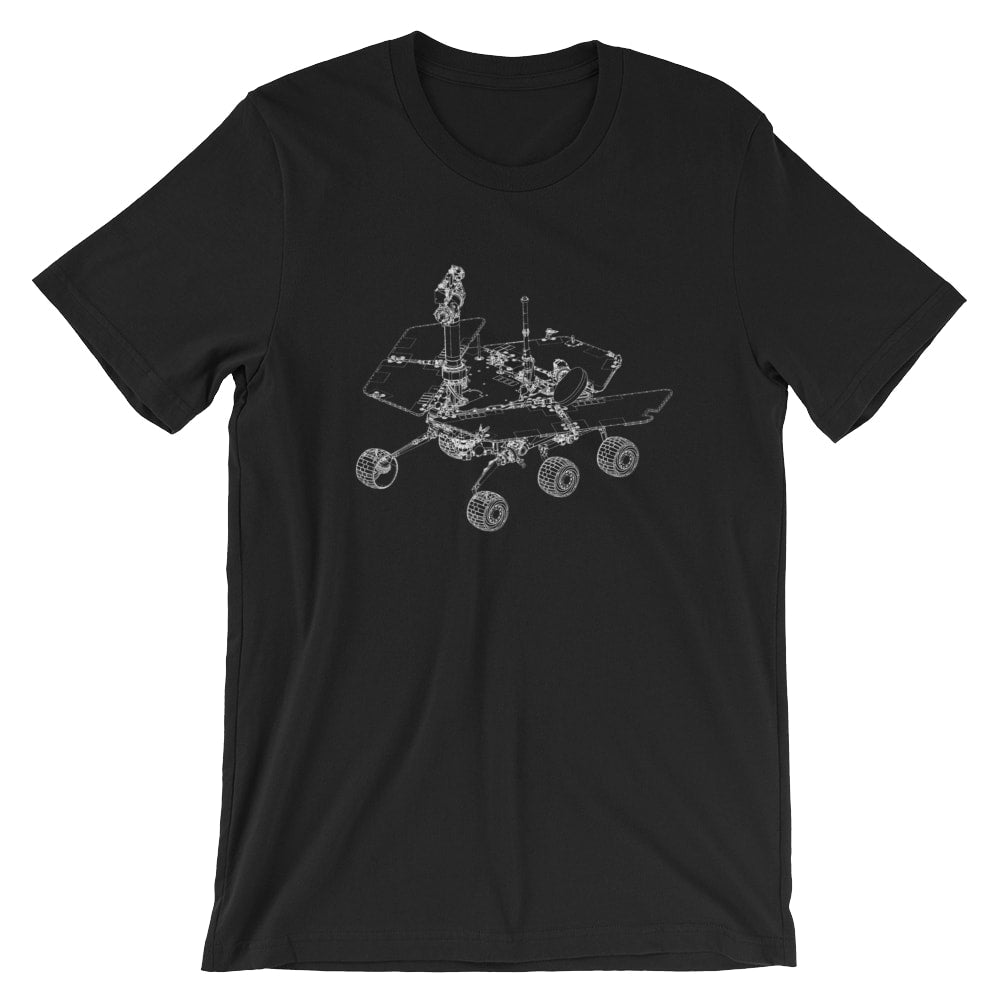 Mars Rover Patent T-Shirt - Mighty Circus