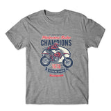 Motocross Retro Champion T-Shirt 100% Cotton Premium Tee NEW