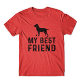 My Best Friend T-Shirt 100% Cotton Premium Tee