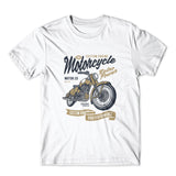 Retro Power Motorcycle T-Shirt 100% Cotton Premium Tee NEW