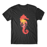 Sea Horse Beach T-Shirt 100% Cotton Premium Tee NEW