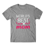 World's Best Mom T-Shirt 100% Cotton Premium Tee