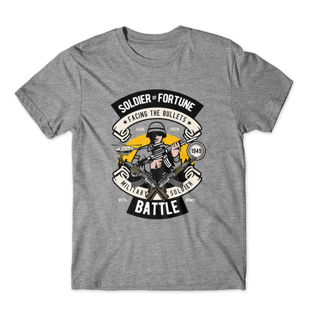 Soldier of Fortune Battle T-Shirt 100% Cotton Premium Tee NEW