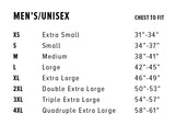 Paws T-Shirt Sizing Chart