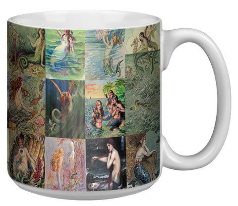 Mermaids 20 Ounce Jumbo Mug