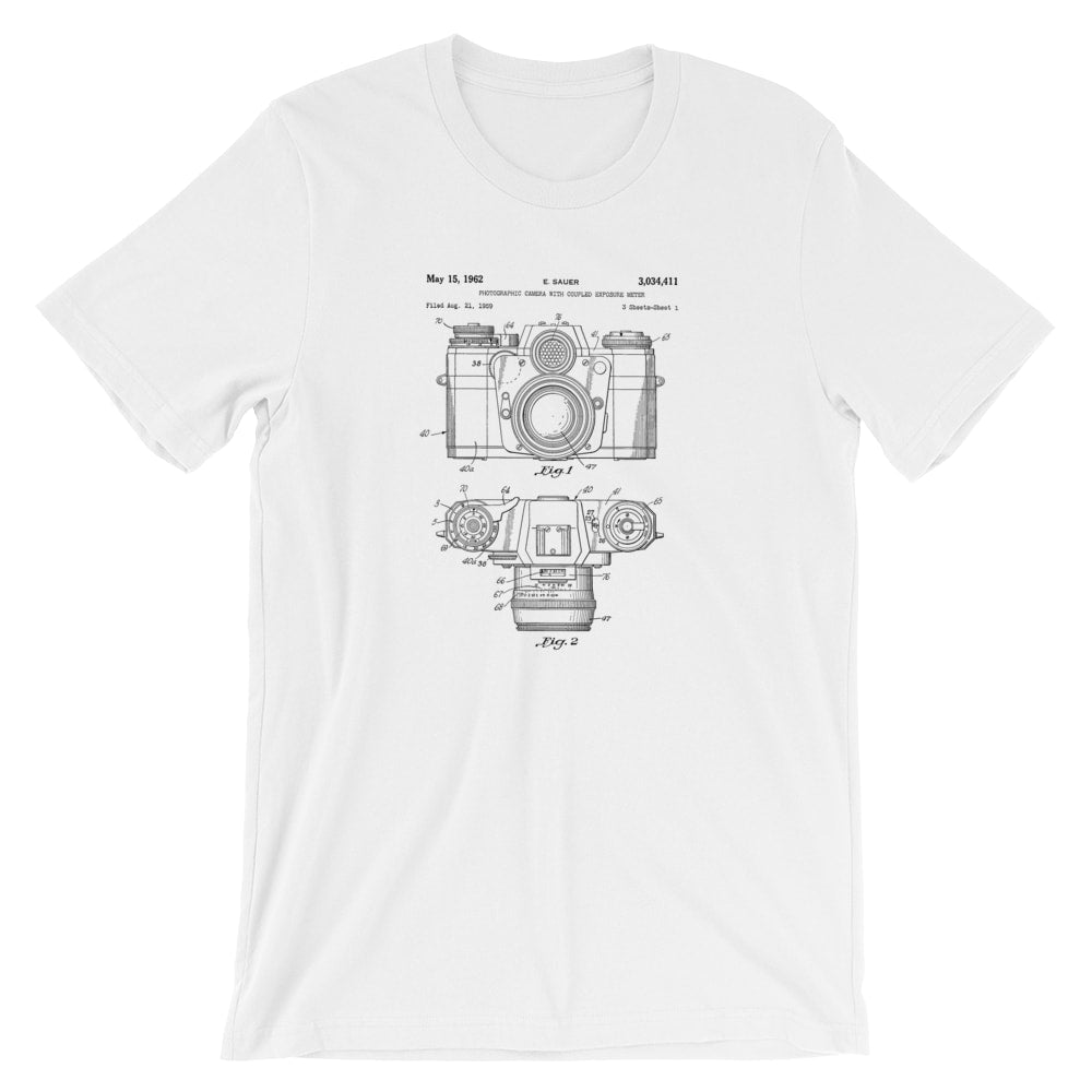 Camera Patent T-Shirt - Mighty Circus